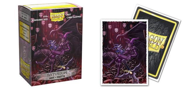 Dragon Shield Matte Art Sleeves: Saturion Portrait (100ct)