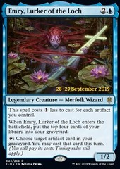 Emry, Lurker of the Loch - Foil Prerelease Promo