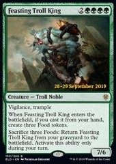 Feasting Troll King - Foil (Prerelease)