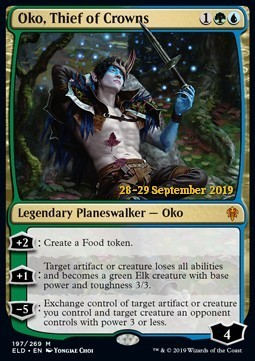 Oko, Thief of Crowns - Foil Prerelease Promo