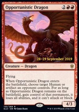 Opportunistic Dragon - Foil Prerelease Promo