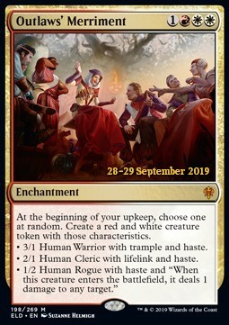 Outlaws Merriment - Foil Prerelease Promo