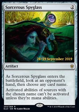 Sorcerous Spyglass - Foil Prerelease Promo