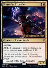 Stormfist Crusader (ELD Prerelease Foil)