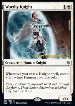 Worthy Knight - Foil Prerelease Promo