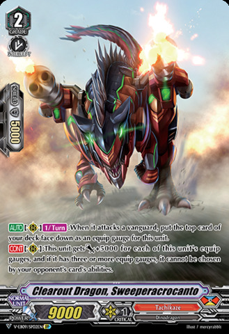 Clearout Dragon, Sweeperacrocanto - V-EB09/SP02EN - SP