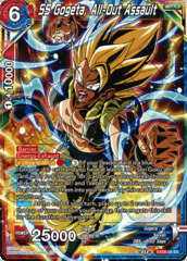 SS Gogeta, All-Out Assault - EX08-04 - EX - Foil