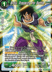Broly, Preparing for Battle - EX07-06 - EX - Foil
