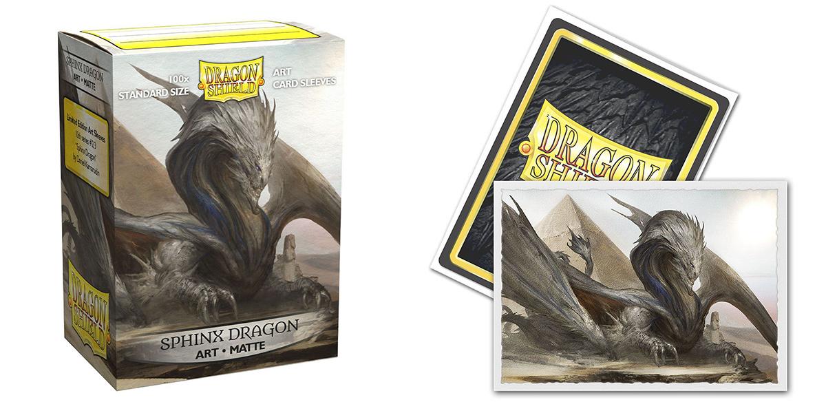 Dragon Shield Sleeves: Sphinx Dragon - (Box of 100)