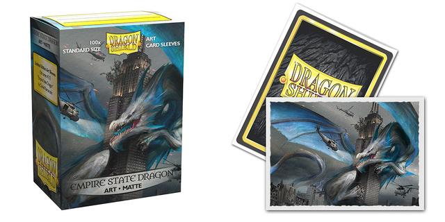 Dragon Shield Sleeves: Empire State Dragon - (Box of 100)