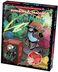 D&D 5th Edition Dungeons & Dragons vs Rick and Morty Starter Set