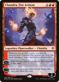 Chandra, Fire Artisan - Promo Pack
