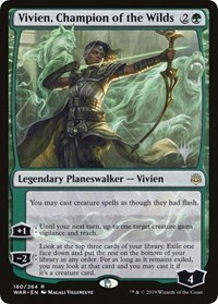 Vivien, Champion of the Wilds - Promo Pack