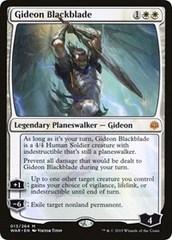 Gideon Blackblade - Foil - Promo Pack