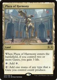 Plaza of Harmony - Foil - Promo Pack