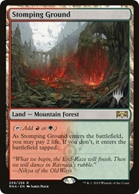 Stomping Ground - Foil - Promo Pack