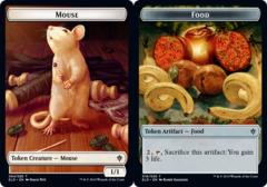 Mouse Token // Food Token (016) - Foil