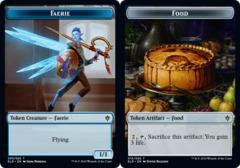 Faerie Token // Food Token (015) - Foil