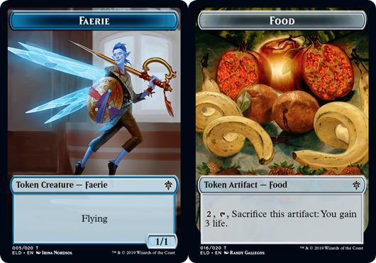 Faerie Token // Food Token (016) - Foil