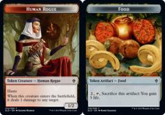Human Rogue Token // Food Token (016) - Foil