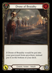 Drone of Brutality (1) - Rainbow Foil