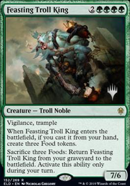 Feasting Troll King - Foil - Promo Pack