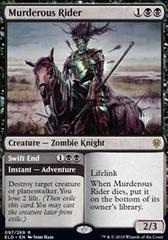 Murderous Rider // Swift End - Foil - Promo Pack