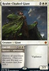 Realm-Cloaked Giant // Cast Off - Promo Pack