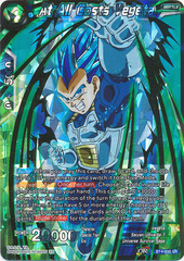 At All Costs Vegeta - BT4-030 - SR - Shatterfoil