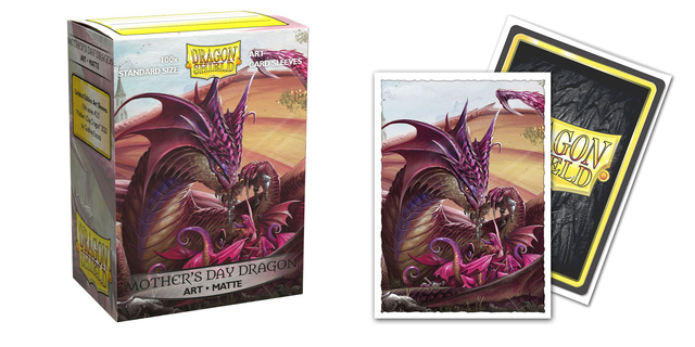 Dragon Shield Sleeves: Mother's Day Matte Art (Box of 100)