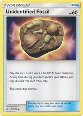 Unidentified Fossil - 207/236 - Uncommon