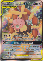 Mega Lopunny & Jigglypuff Tag Team GX (Alternate Art) - 226/236 - Full Art