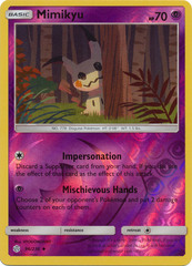 Mimikyu - 96/236 - Uncommon - Reverse Holo