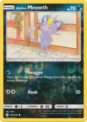 Alolan Meowth - 128/236 - Common - Reverse Holo