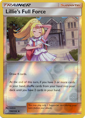 Lillie's Full Force - 196/236 - Uncommon - Reverse Holo