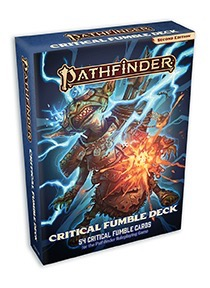 Pathfinder RPG Second Edition: Critical Fumble Deck