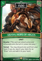 Ariana, Hope of Argos