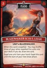 Blazewalker Scout, Leiah