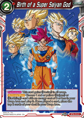 Birth of a Super Saiyan God - BT8-019 - C - Foil