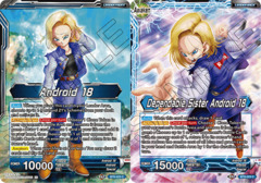 Android 18 // Dependable Sister Android 18 - BT8-023 - C