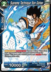 Supreme Technique Son Gohan - BT8-027 - C