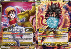 Son Goku & Pan // SS4 Son Goku, Senses Regained - BT8-066 - C - Foil