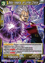 Baby Vegeta, an Unfair Choice - BT8-082 - R