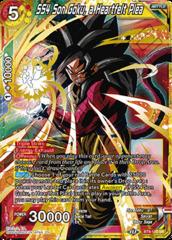 SS4 Son Goku, a Heartfelt Plea - BT8-110 - SR