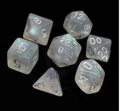 RPG Set -  Glacial Moonstone w/ Silver