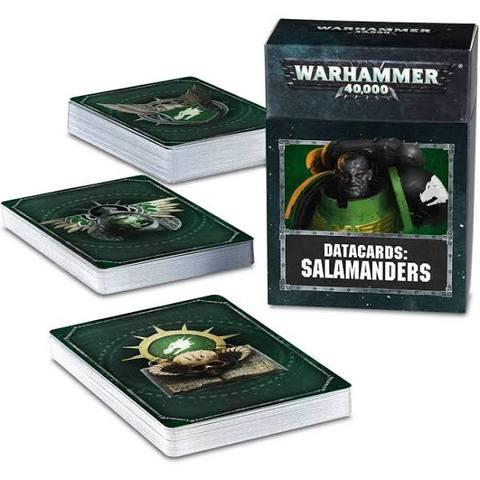 Datacards: Salamanders (English)