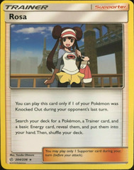Rosa - 204/236 - Rare - Non-Holo Theme Deck Exclusive