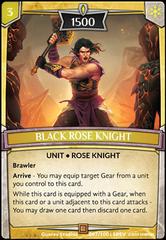 Black Rose Knight