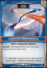 Animated Broomstick - Foil