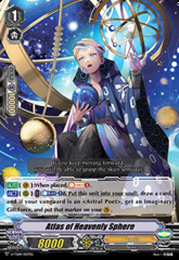 Atlas of Heavenly Sphere - V-TD09/007EN - TD - Foil